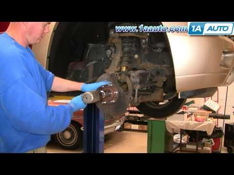 How To Install Repair Replace Front Wheel Hub Bearing Trailblazer Envoy 02 09 1aauto Com Chevy Trailblazer 2007 Chevy Trailblazer Trailblazer