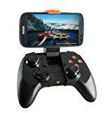 MOGA Pro Power Wireless Bluetooth Gaming Controller mit Integrierter Halterung und Tabletständer für Android Smartphones - Schwarz