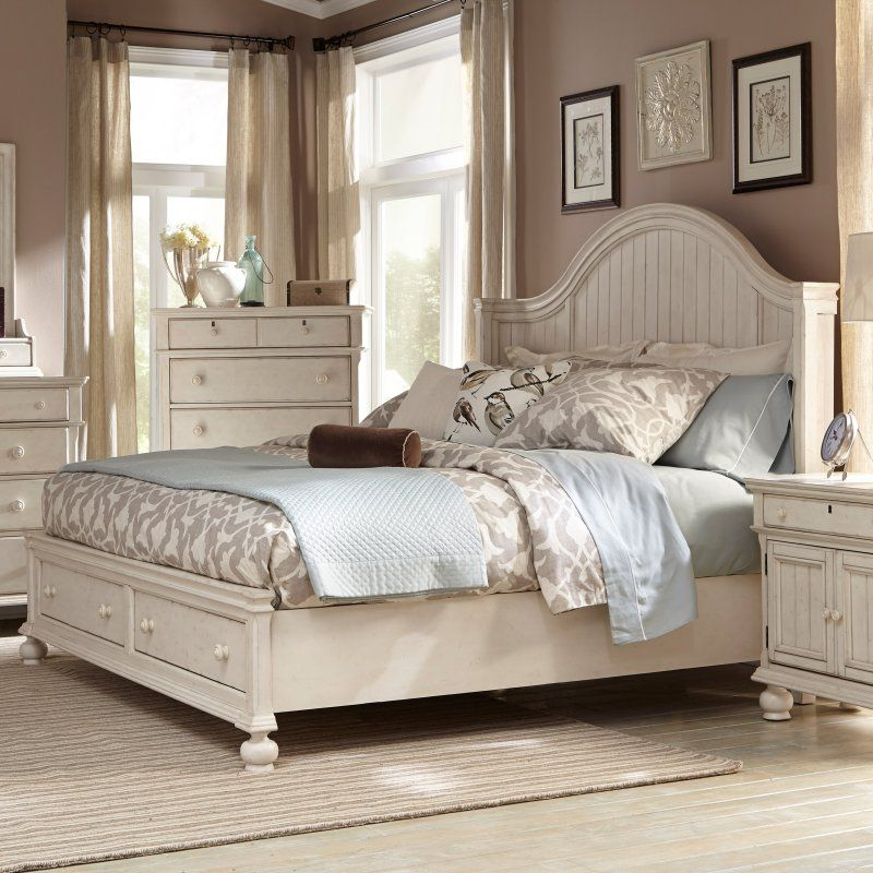 Best American Woodcrafters Newport Panel Bed Size Queen 640 x 480