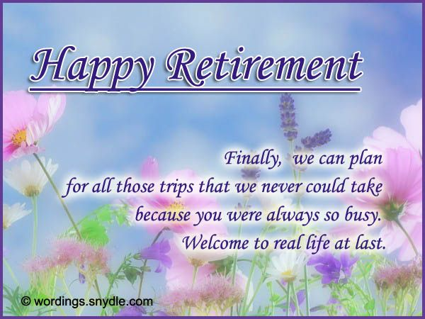 Happy Retirement Wishes Messages Greetings Cards Images Wallpapers