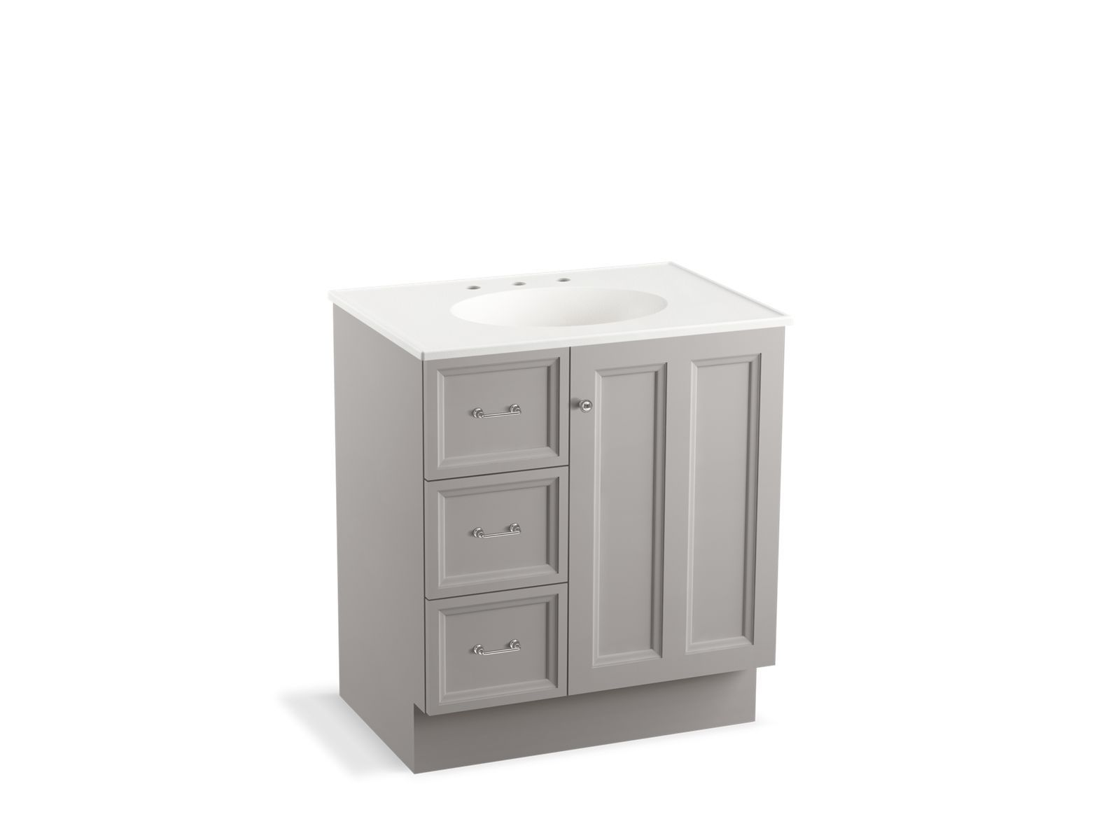with carrara cover vanity new kitchenbathcollection white drawer inch yorker products drawers