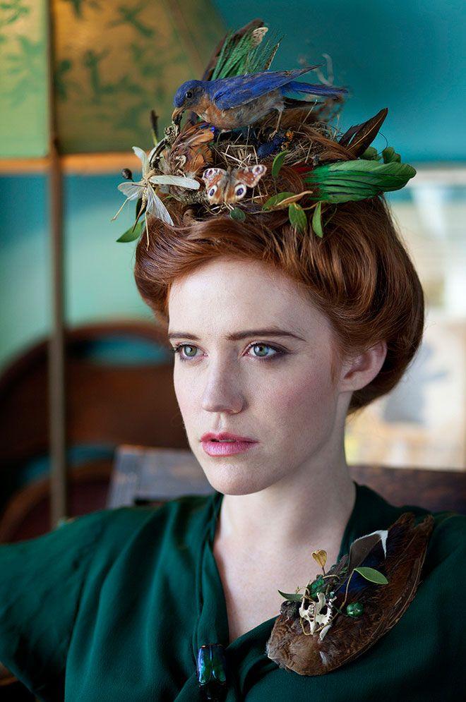 Green Lady Miss Moss Bird Nest Hair Crazy Hair Days Steampunk Hairstyles