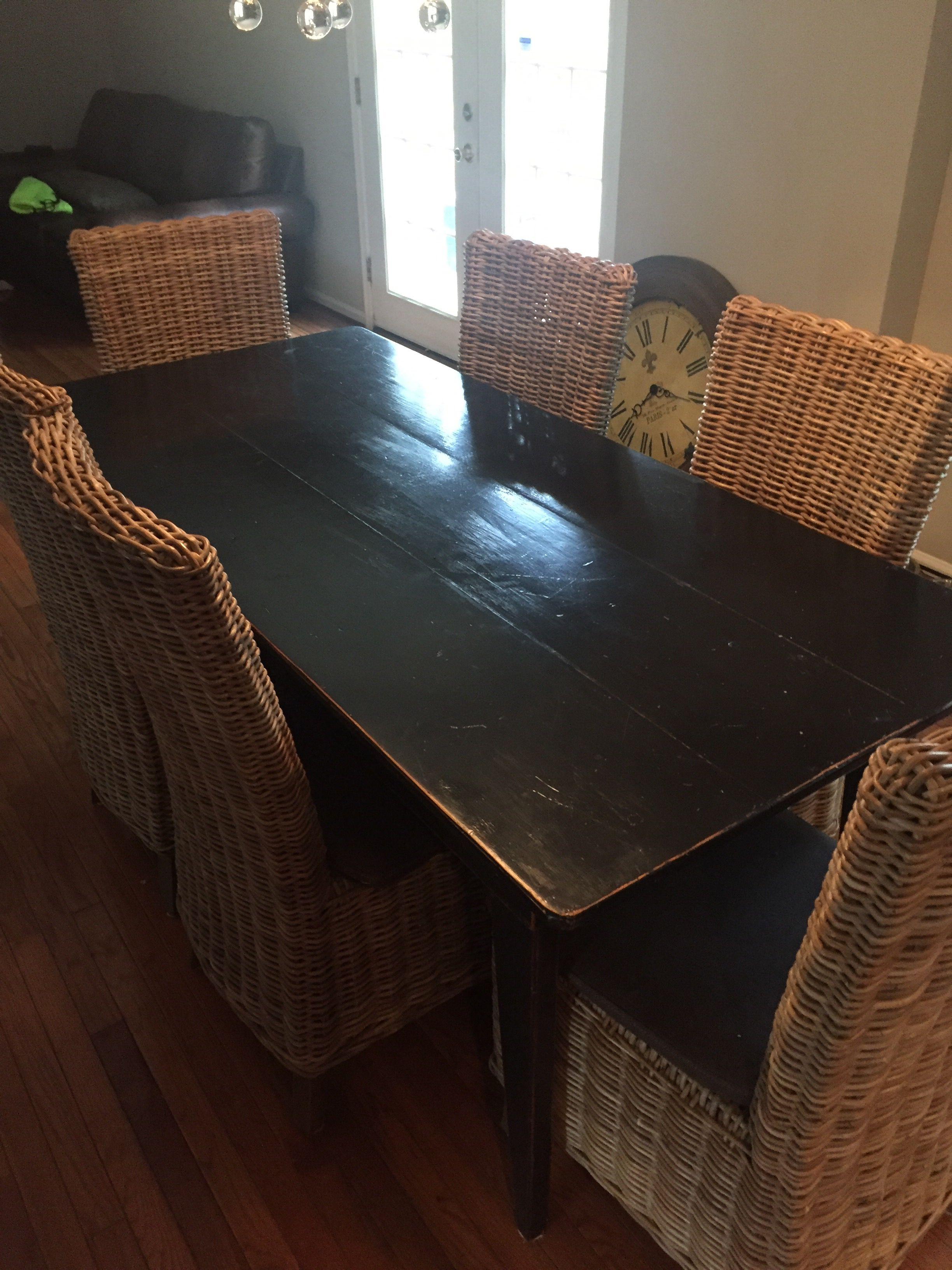 black distressed kitchen table  distressed kitchen tables