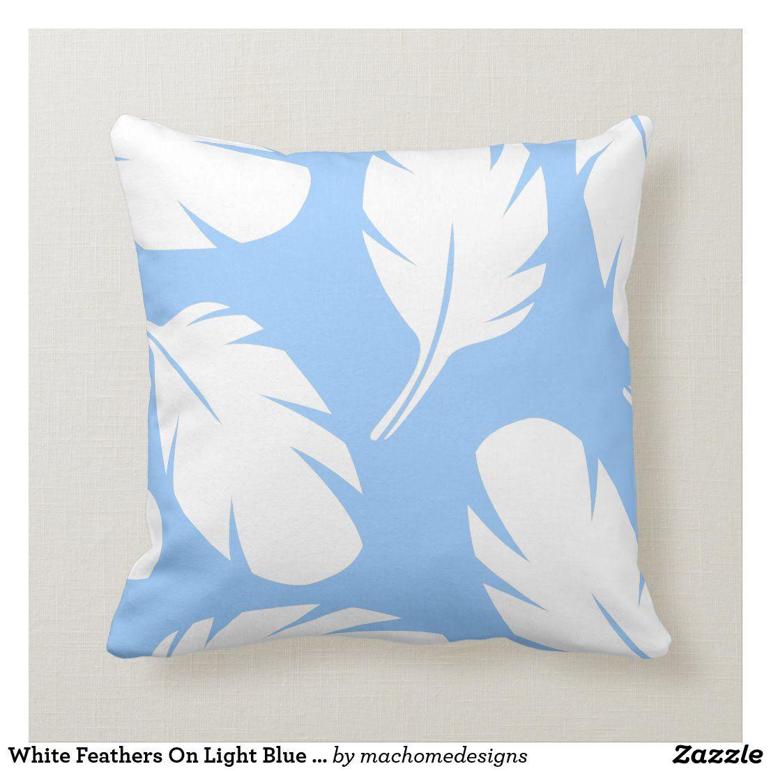 Pin Na Doshci Blue Decorative Pillows