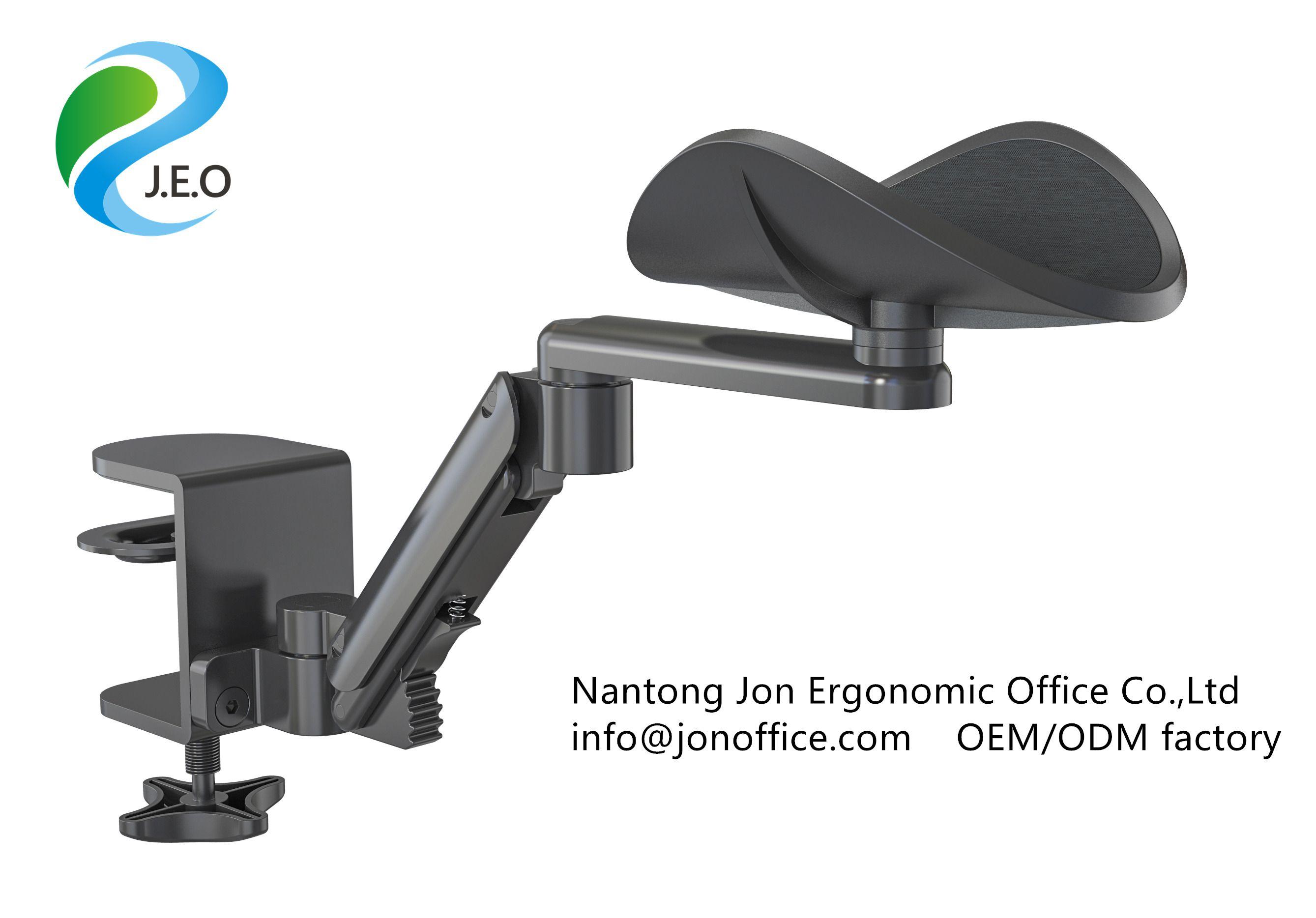 Clamp On Adjustable Armrest Desk Cradle Rotating Elbow Cushion Above Table Extension Platform Elbow Cushion Table Extension Clamp