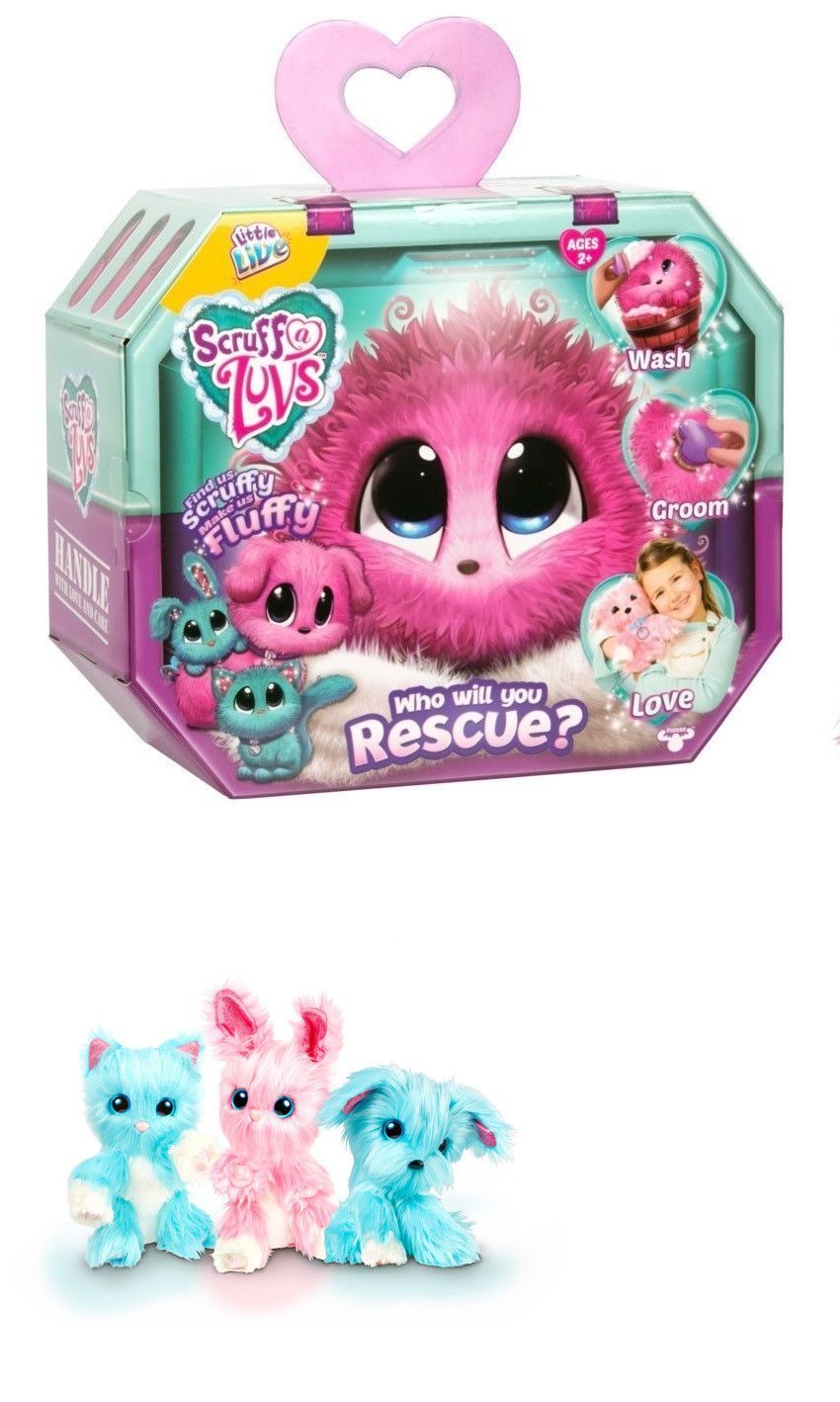 Other Interactive Toys 232 Little Live Pets Scruff A Luvs Pink Puppy Kitten Or Bunny Buy It Now Christmas Gifts For Kids Little Live Pets Princess Toys