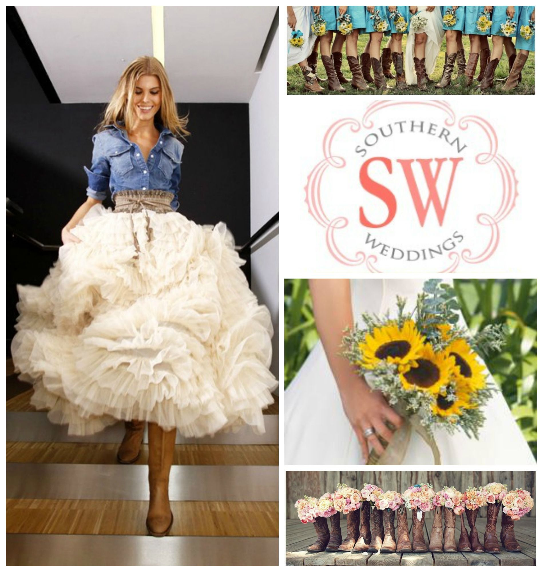 Country Wedding! HerFayeBoutique.com has all of your Bridesmaid ...