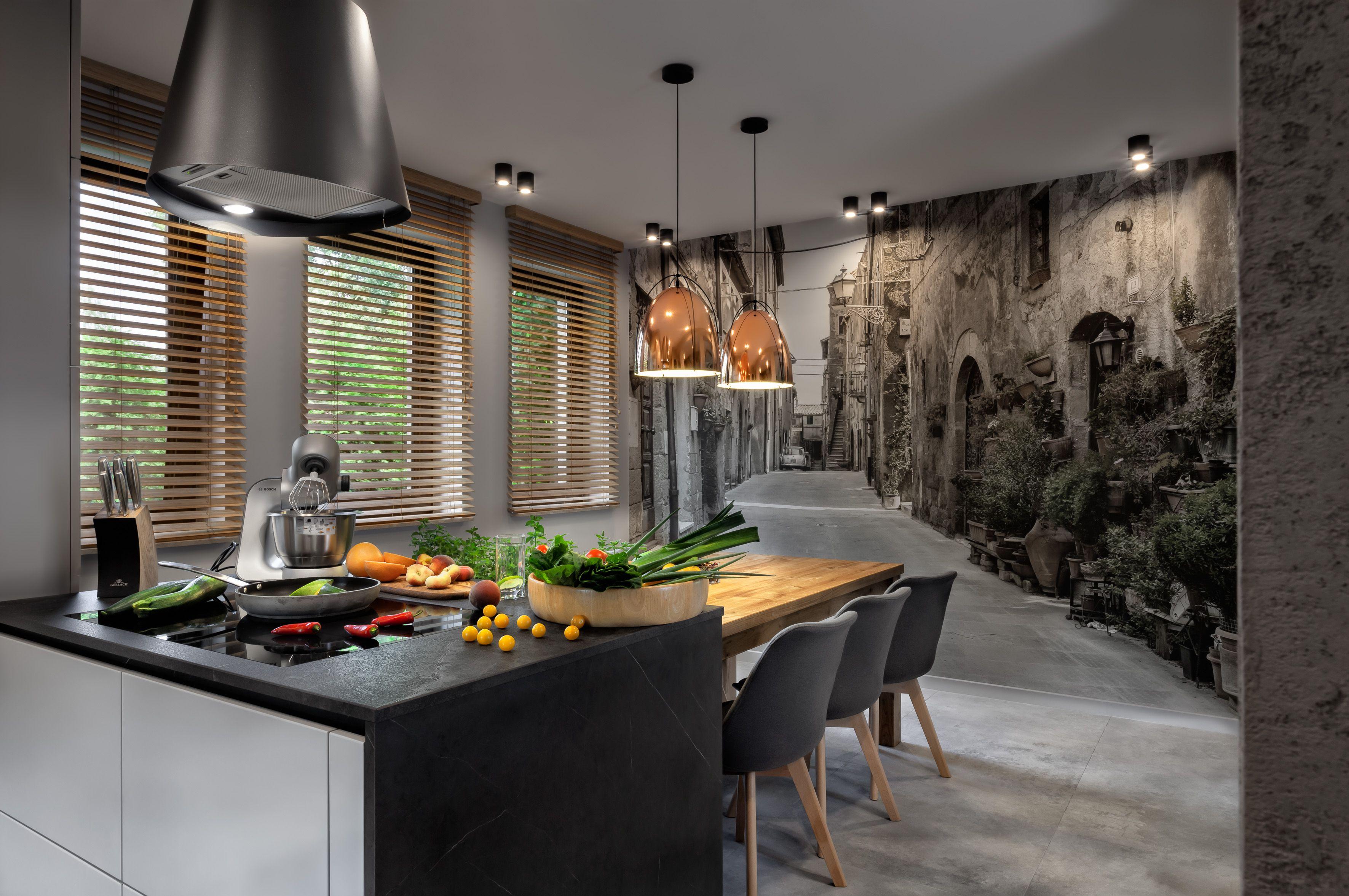 Kuchnia Z Widokiem 03 Kitchen Breakfast Bar Home Decor