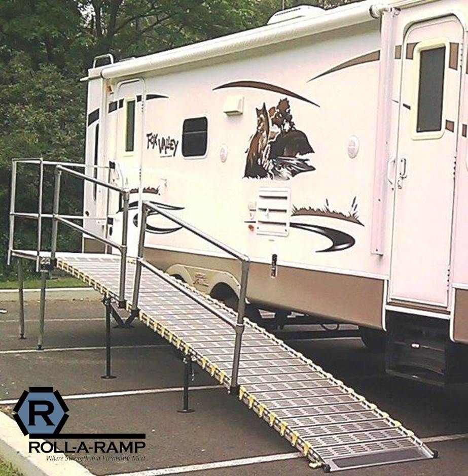 Rv Trailers: Pin By Roll-A-Ramp On RV Ramp - Roll-A-Ramp
