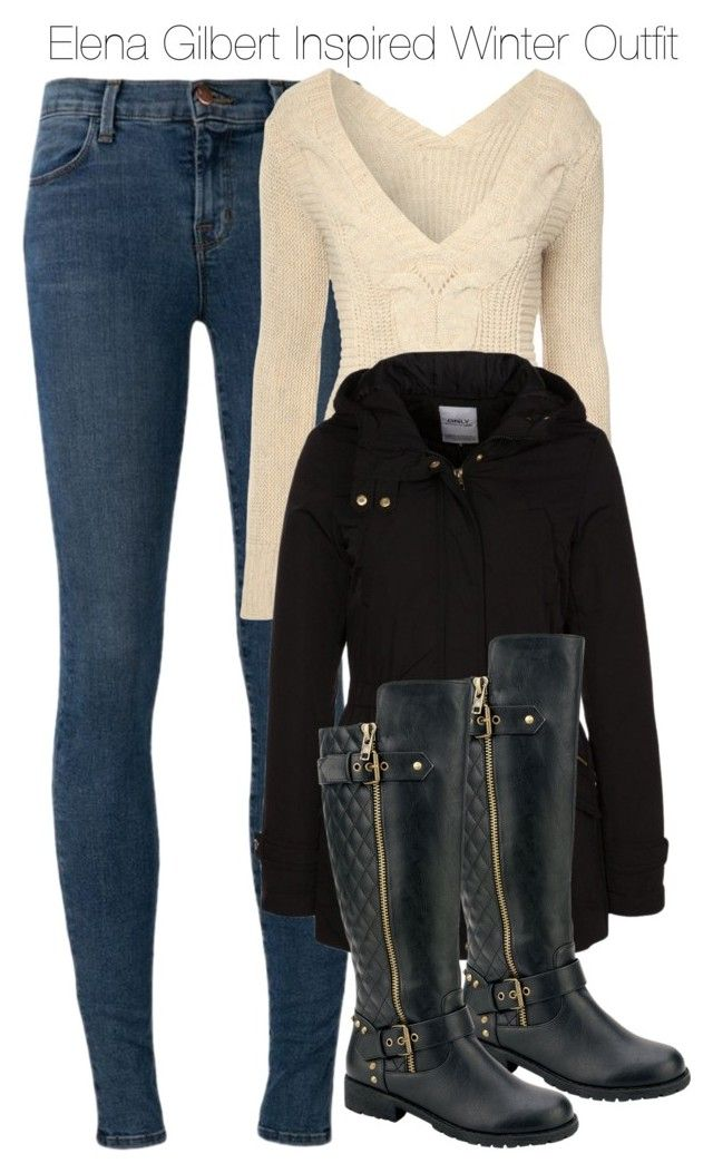 Elena Gilbert Inspired Winter Outfit Polyvore Winter