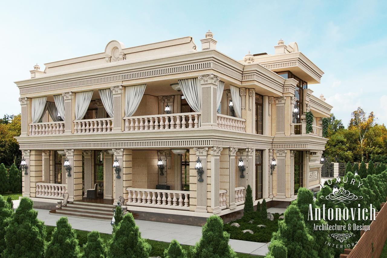 Exterior design in dubai exterior villa dubai photo 1