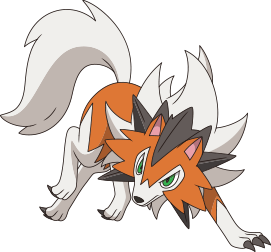 It Was Recently Confirmed That A New Form Of Lycanroc Appears In The World Of Pokemon Ultra Sun And Pokemon Ultra Moon Dus Pokemon Mewtwo Pokemon Anime Artwork