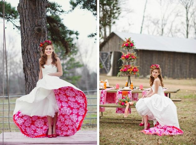 10 Alternative Wedding Dress Ideas for Creative Brides | Woodsy ...