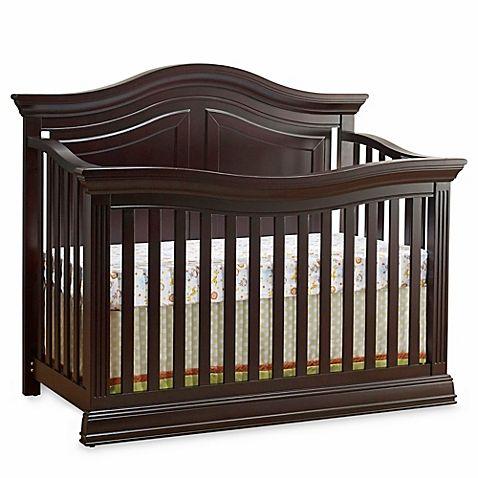 Sorelle Providence 4-in-1 Convertible Crib in Dark Espresso | Buy ...