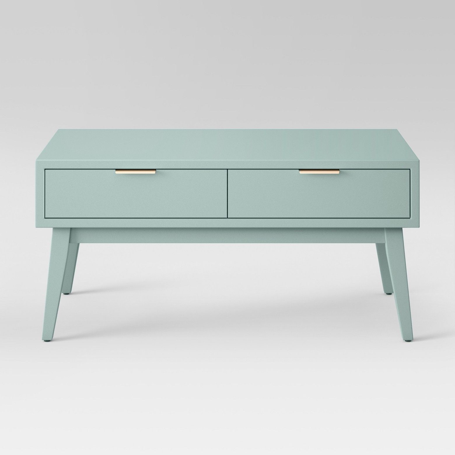 Soft Coffee Table With Storage Hafley Coffee Table Smoke Green Project 62 Apartment