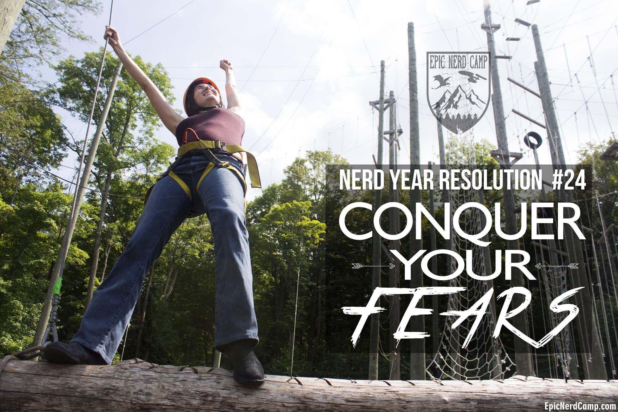 Nerd Year Resolutions Summer Camp For Adults At Epicnerdcamp Com Summertime Rockclimbing Roping Climbingwalls Zipline Geekstu Nerd Sword Fight Zombie Makeup