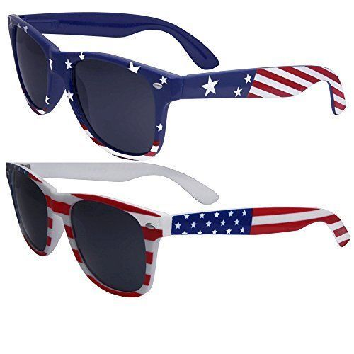 fded2fc896 2 Pairs Bulk American Sunglasses USA Flag Classic Patriot  fashion   clothing  shoes  accessories  unisexclothingshoesaccs  unisexaccessories