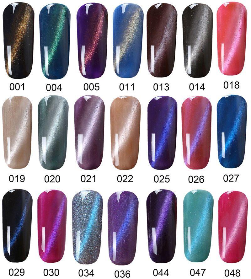VTS Nail Polishes Health & Beauty Cat eye nails polish