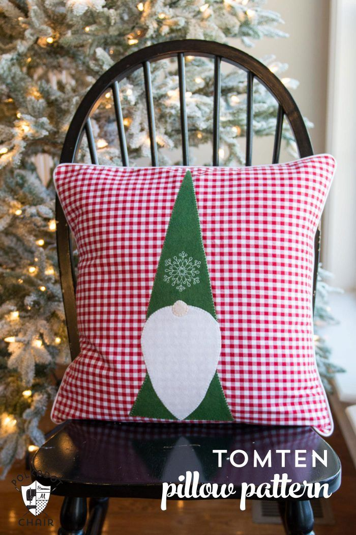 Tomte Christmas Gnome Pillow Pattern | Christmas gnome, Gnomes and ...