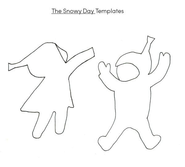The Snowy Day Activities Winter Art Projects The Snowy Day Book