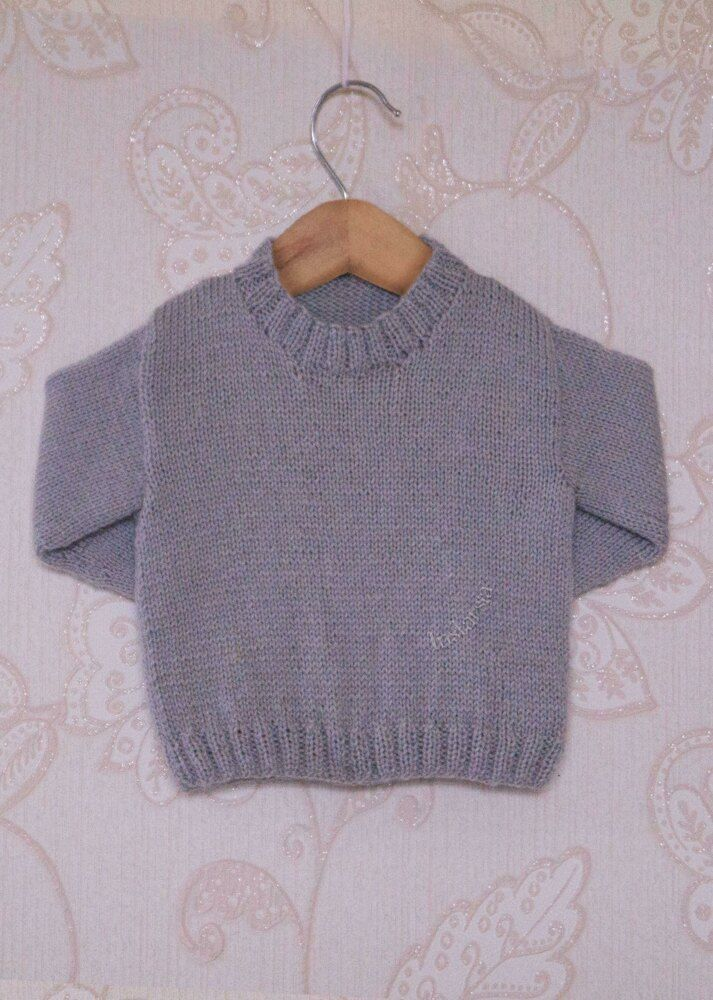 4ply Childrens Sweater Knitting pattern by Instarsia #childrenssweaters