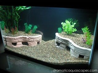 Diy Aquarium Stone Terrace Cave Petdiys