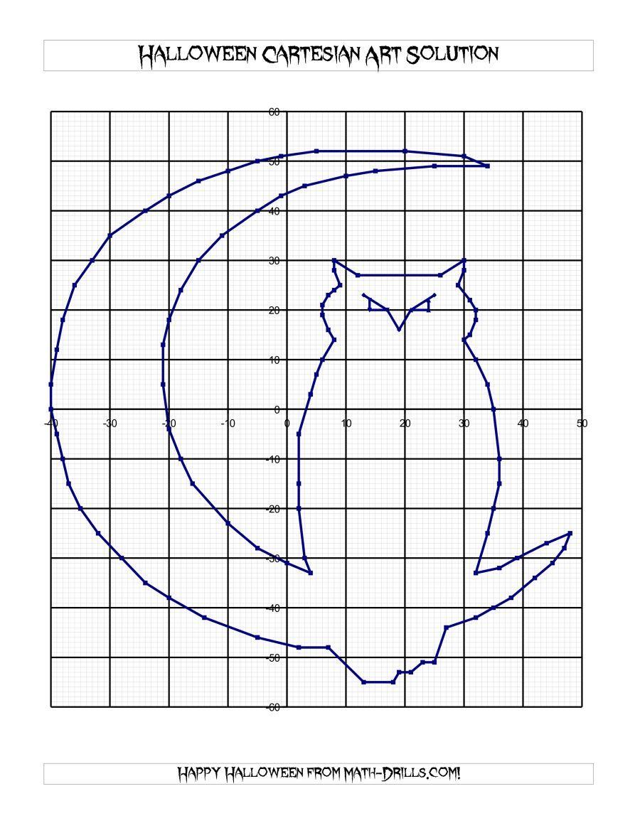 The Cartesian Art Halloween Owl Math Worksheet Halloween Math Worksheets Halloween Math Kids Art Projects [ 1165 x 900 Pixel ]