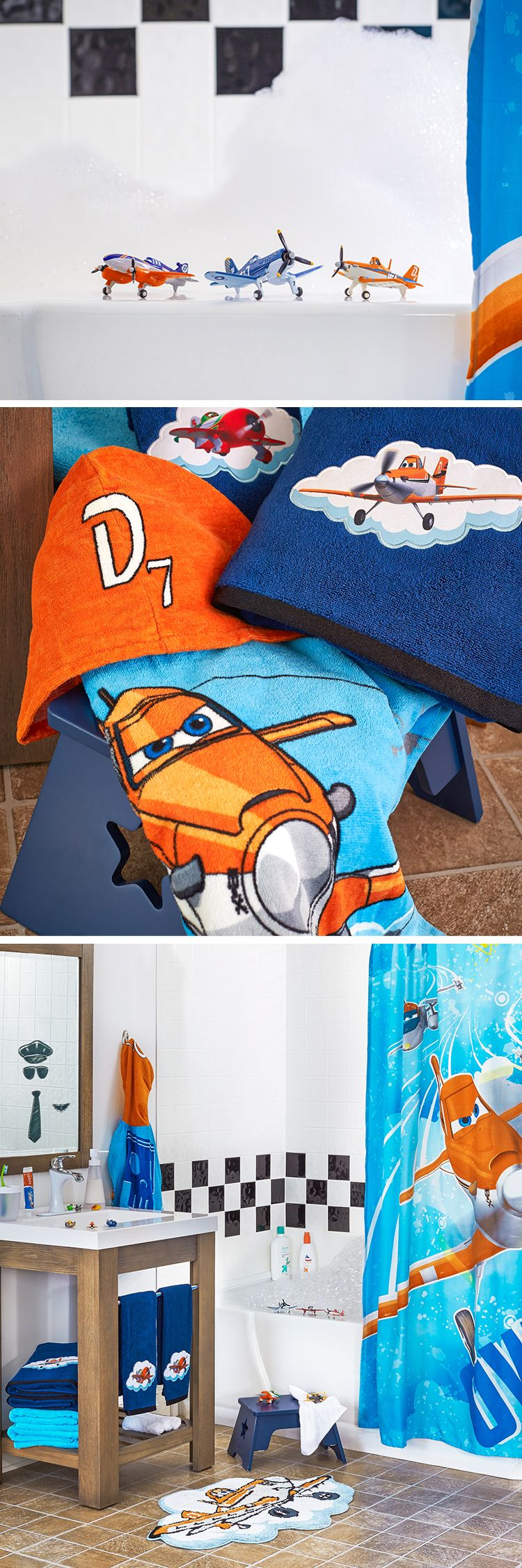 Make Bathroom Time Fun For Kids With Disney Planes Accessories Starring Dusty