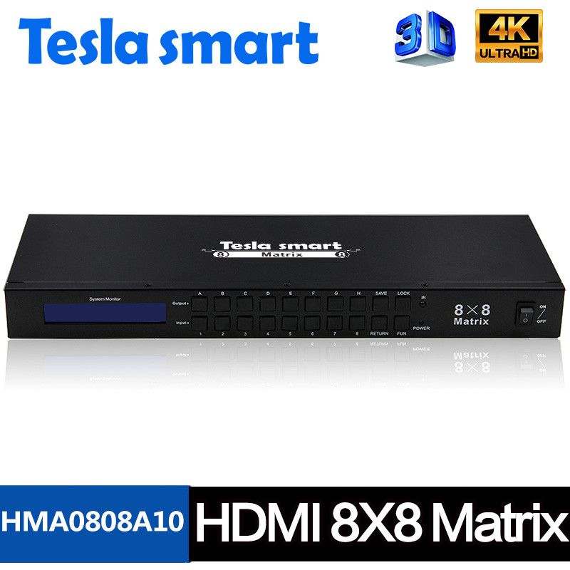 HDMI Matrix 8x8 support with 4k | HDMI Matrix