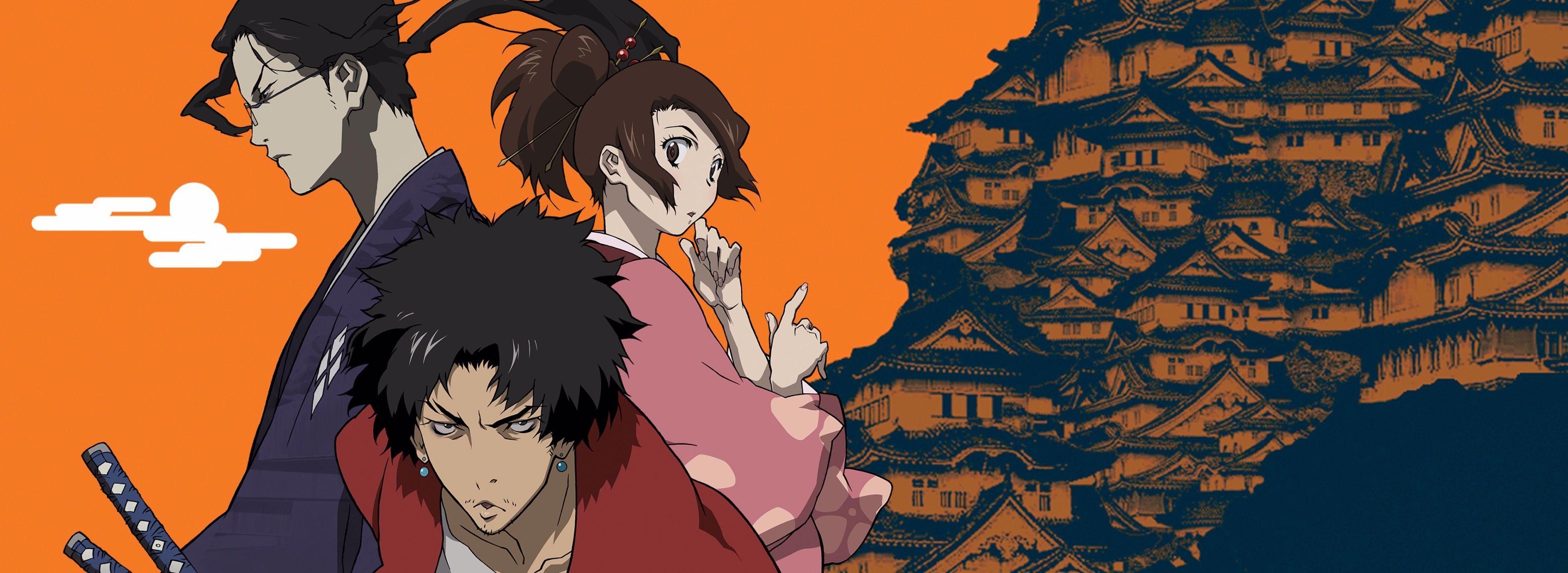 Anime Wallpaper Samurai Champloo 2740983 3840x1406 Samurai Champloo 4k Best Picture Ever Samurai Champloo Katana Samur In 2020 Samurai Champloo Anime Wallpaper Anime