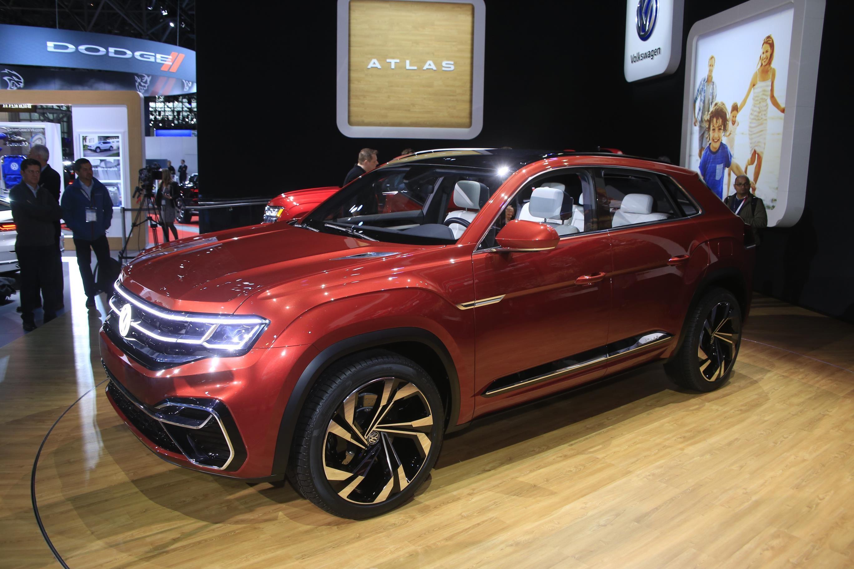 Volkswagen Atlas Cross Sport Concept At NYIAS Photos