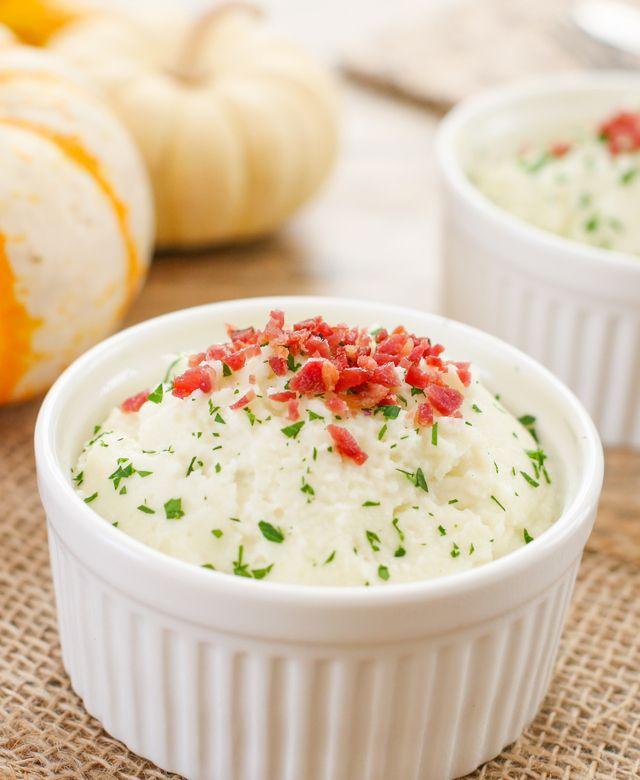Creamy Mashed Parmesan Cauliflower | Kirbie's Cravings | A San Diego food & travel blog