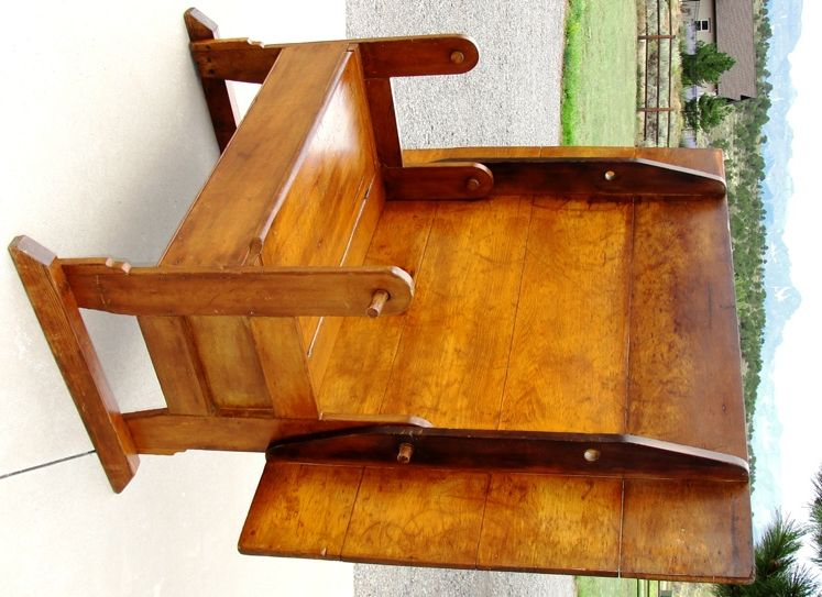 Early 1785 1800 S American Pine Hutch Table A Circa 1815