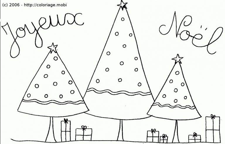Coloriage De Noel A Imprimer Gratuit Format A4