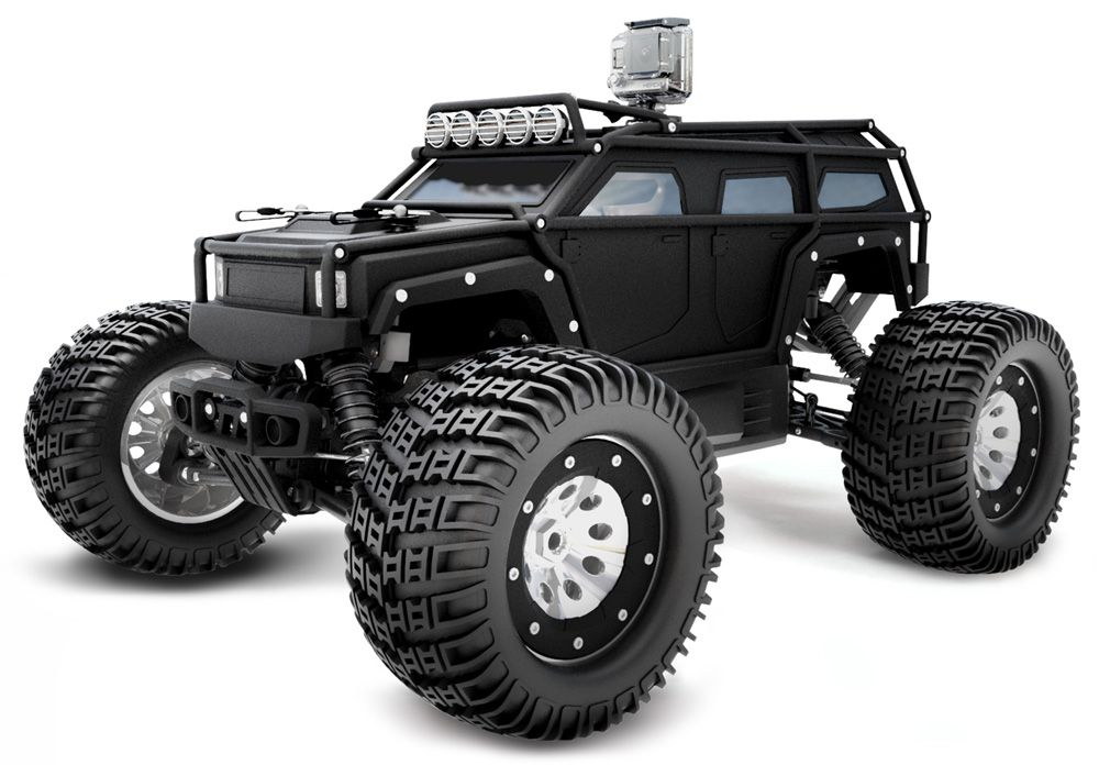 This Is A Thunder Tiger K Rock Mt4 Monster Trucks Rc Monster