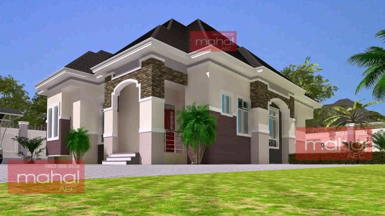 Latest Bungalow House Design In Nigeria Duplex House Design Bungalow Design Duplex Design