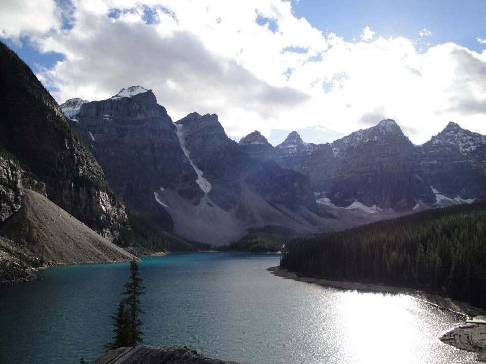 Moraine Lake And Valley Of The Ten Peaks, Banff National