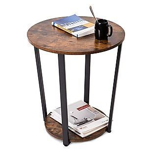 Get a Deal on Round End Table $45 Shipped May 2021 Gallery