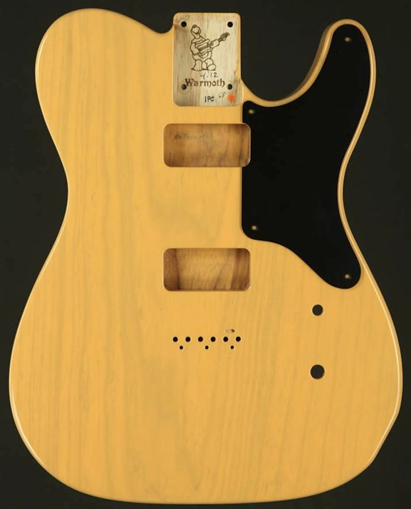 la cabronita tele body one piece swamp ash in a butterscotch blonde finish warmoth guitar. Black Bedroom Furniture Sets. Home Design Ideas