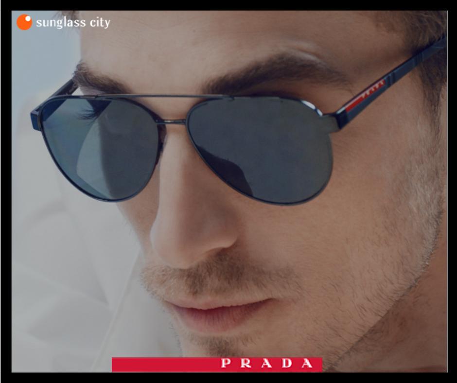 ccbae976fa Tenemos las mejores gafas de sol de la colección Prada Linea Rossa ...