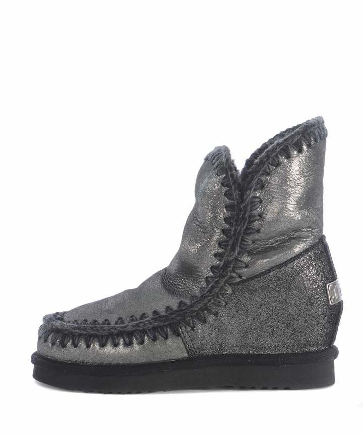 42521b04302 Mou Eskimo Wedge Short Ankle Boots
