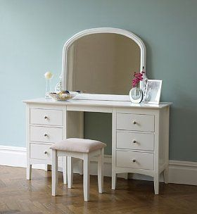 Hastings Ivory Dressing Table Amp Stool Set For The Home