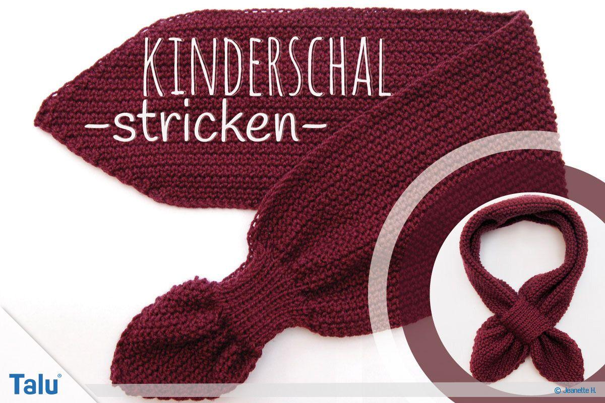 Photo of Kinderschal stricken – kostenlose Anleitung für Anfänger