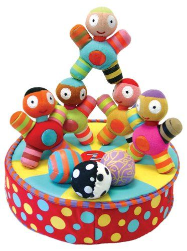 Fabric Magnetic Toddler Stacking Imagination Toy 30 On