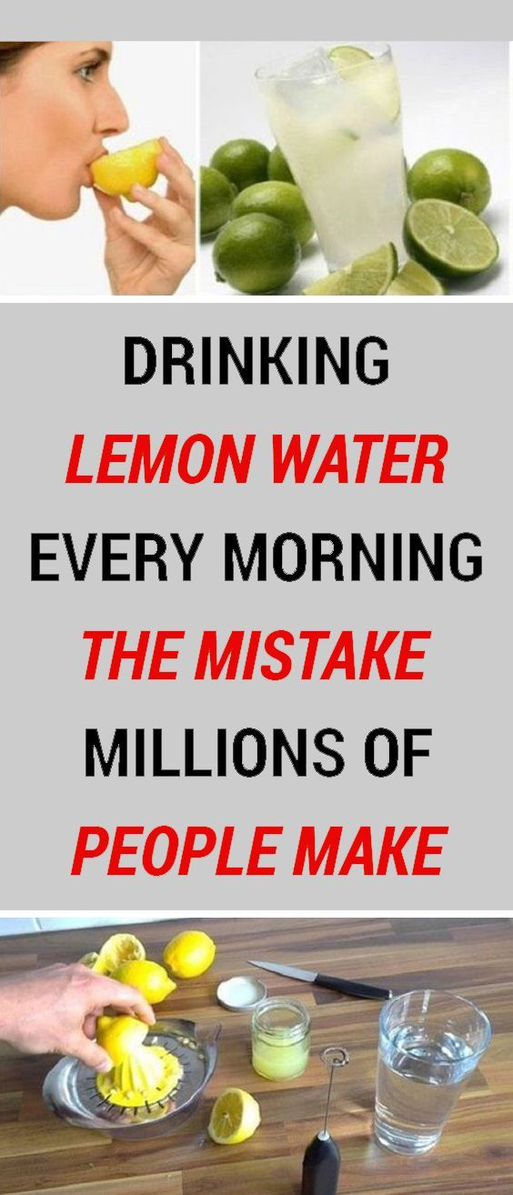 Drink Lemon Water Every Day But Don T Make The Same