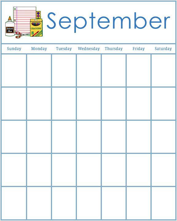 It is a graphic of Geeky Printable Preschool Calendars