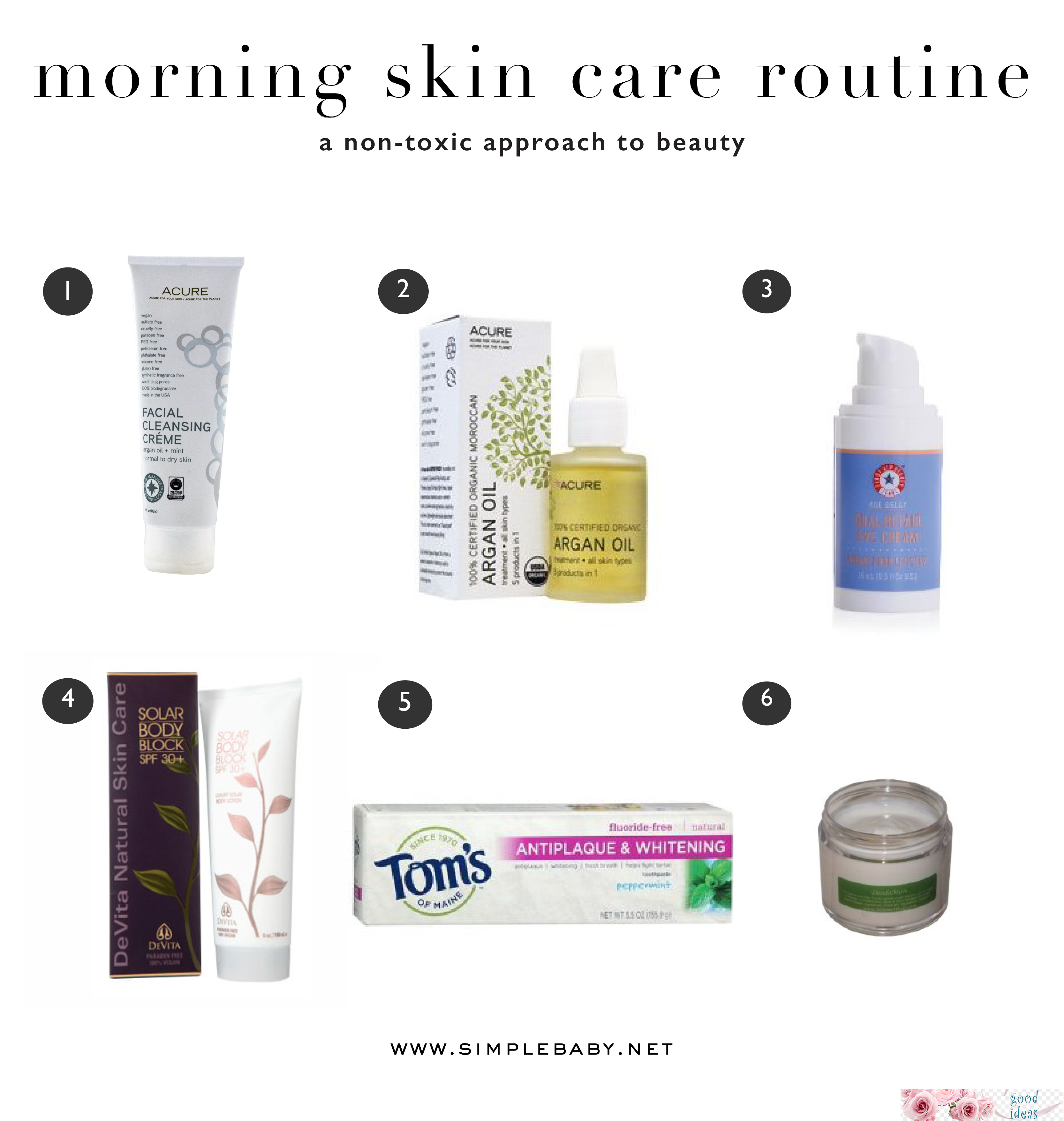 nontoxic morning skincare skincareroutinefor20s