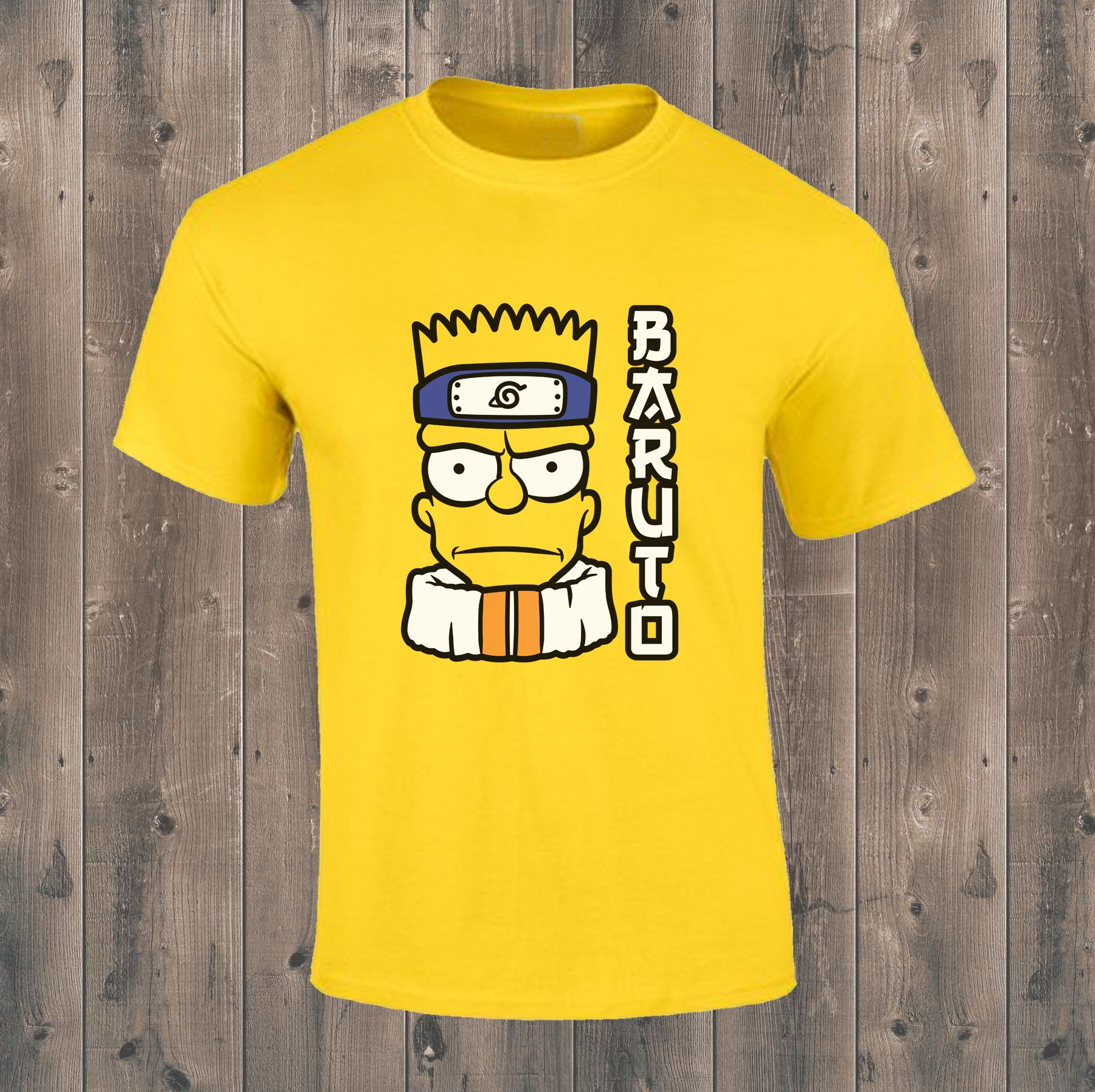 16af2046b Add some colour and fun to your wardrobe with this playful Bart Simpson T- shirt