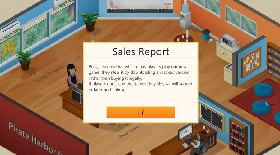 Game devs teaching pirates a lesson through illegal downloads | Ever wondered what it would be like to be a games developer struggling against piracy? Those illegally downloading Games Dev Tycoon are finding out first hand. Buying advice from the leading technology site