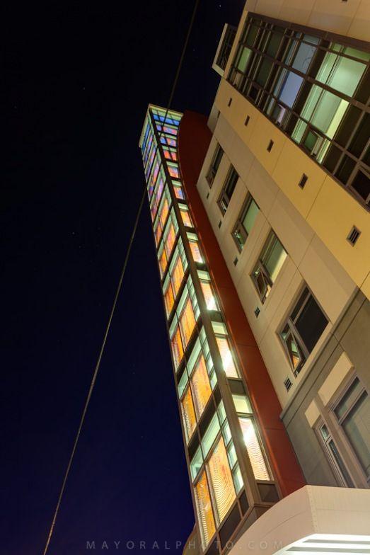 Mercy Housing Stairway Curtain - Ball-Nogues Studio, 2012.